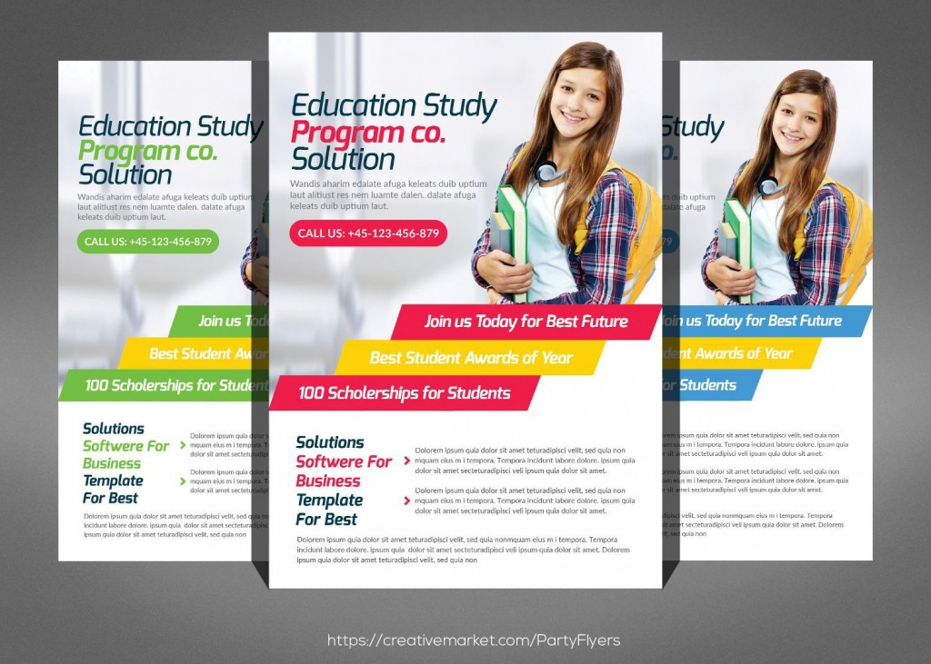 001 Rare Free Flyer Design Template Highest Clarity  Templates Online Download PsdLarge