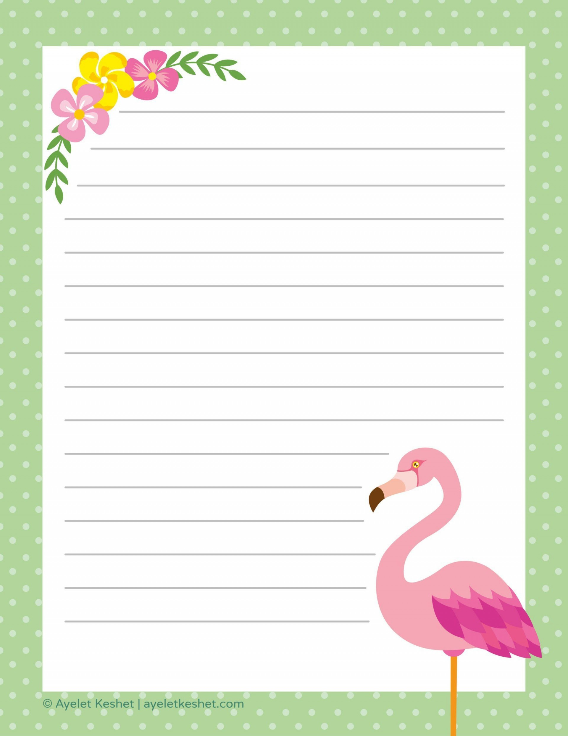 001 Rare Free Printable Stationery Paper Template Concept  Templates1920