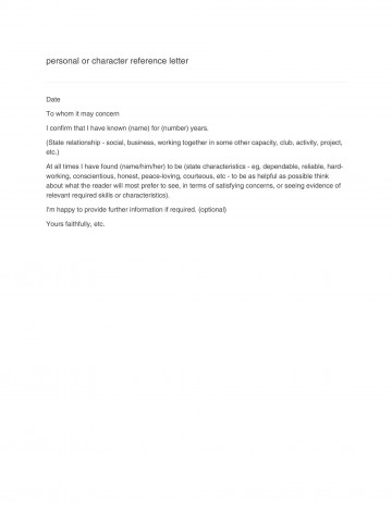 001 Rare Free Reference Letter Template For Tenant Example 360
