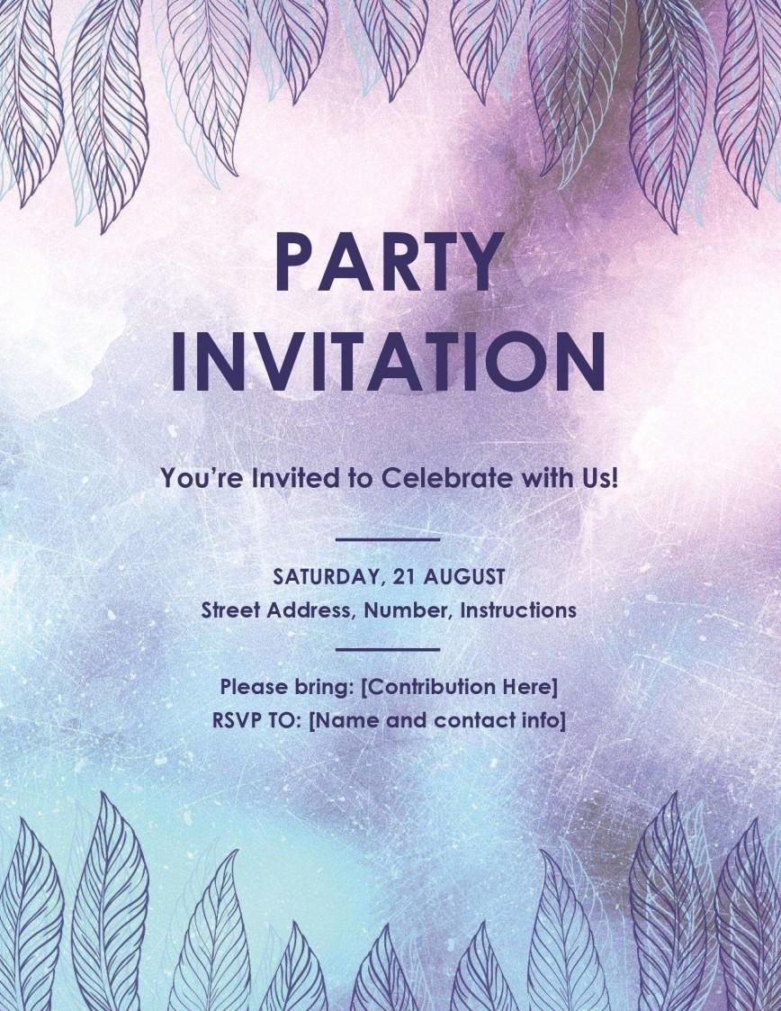 001 Rare Microsoft Office Invitation Template Photo  Templates Wedding Publisher Birthday