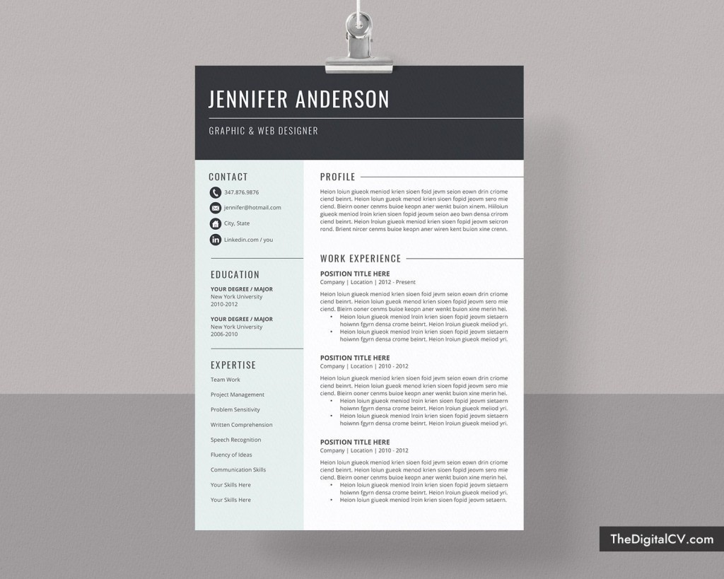 001 Rare Microsoft Word Resume Template 2020 High Definition  FreeLarge