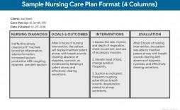001 Rare Nursing Care Plan Template High Definition  Veterinary Ability Model Free Printable