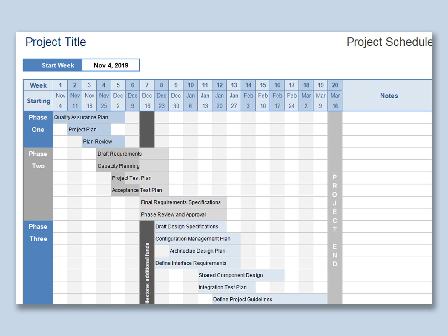 001 Rare Project Planning Template Free Download Idea  Software Management Plan Excel XlFull