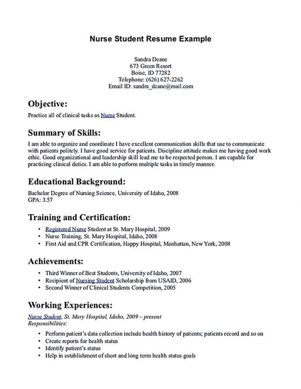 001 Rare Rn Graduate Resume Template High Resolution  New Grad NurseLarge
