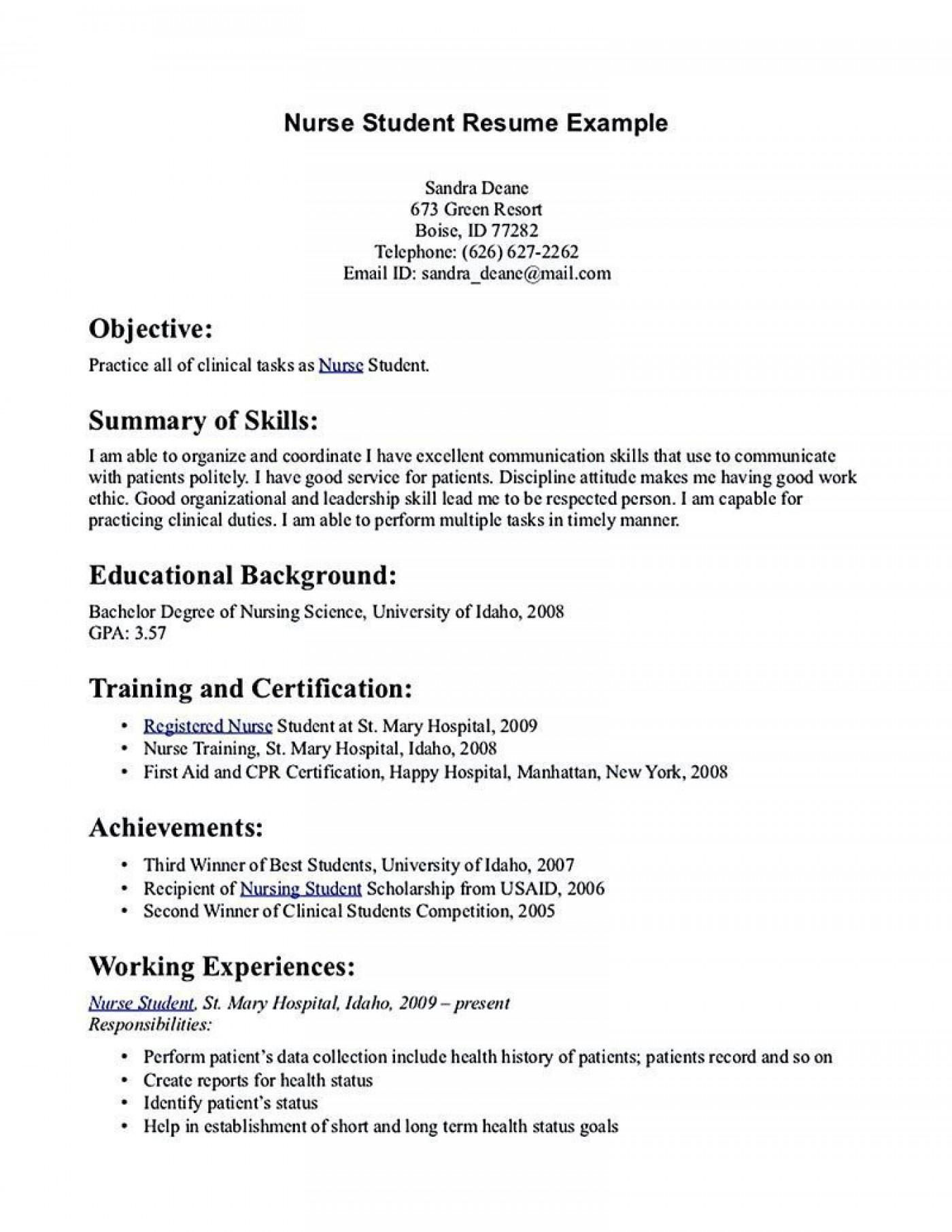 001 Rare Rn Graduate Resume Template High Resolution  New Grad Nurse1400