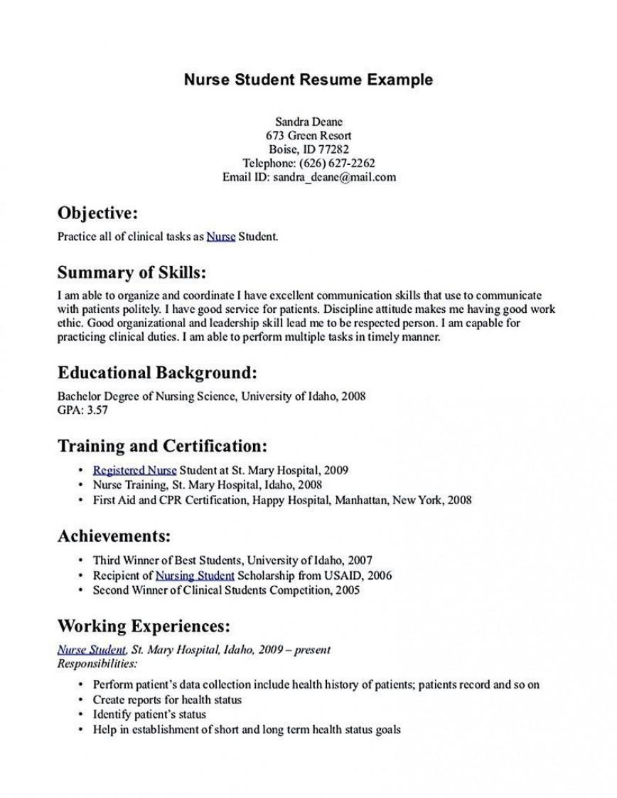 001 Rare Rn Graduate Resume Template High Resolution  New Grad Nurse868
