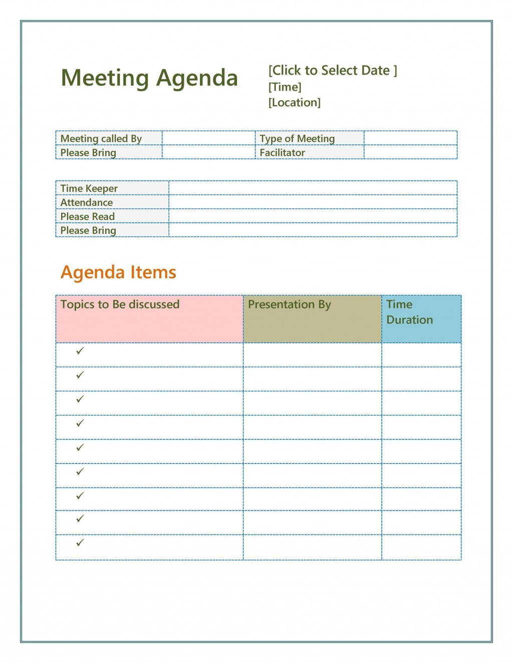 001 Rare Staff Meeting Agenda Template Picture  Example FormatLarge