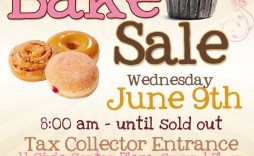 001 Rare Valentine Bake Sale Flyer Template Free Image  Valentine'