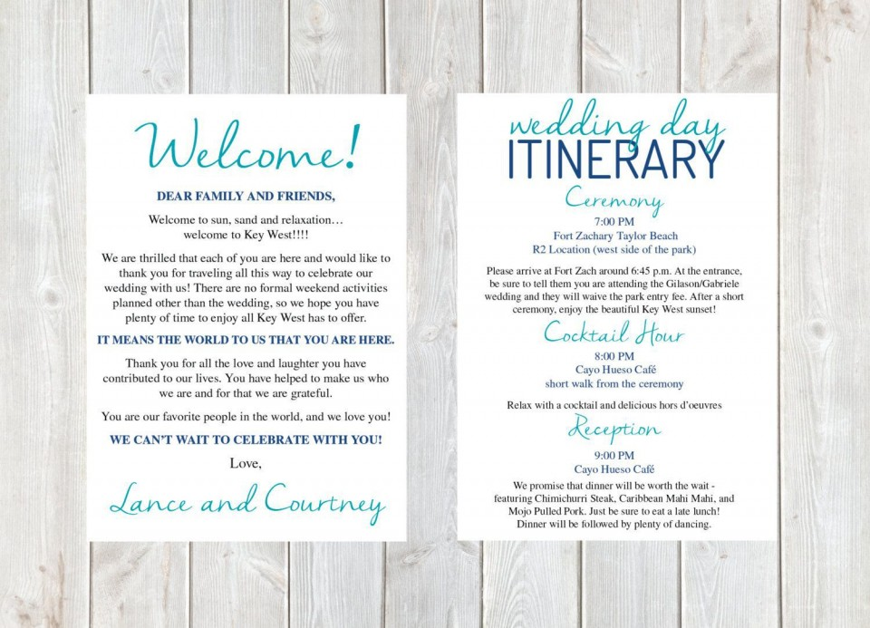 001 Rare Wedding Hotel Welcome Letter Template Highest Clarity 960