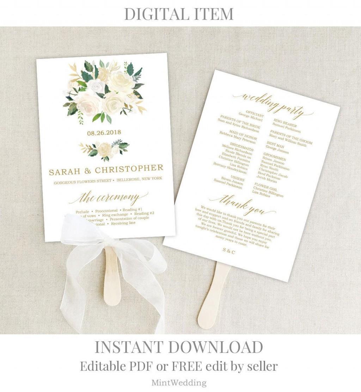 001 Rare Wedding Program Template Free Download High Def  Downloadable Pdf Reception Microsoft Word FanLarge