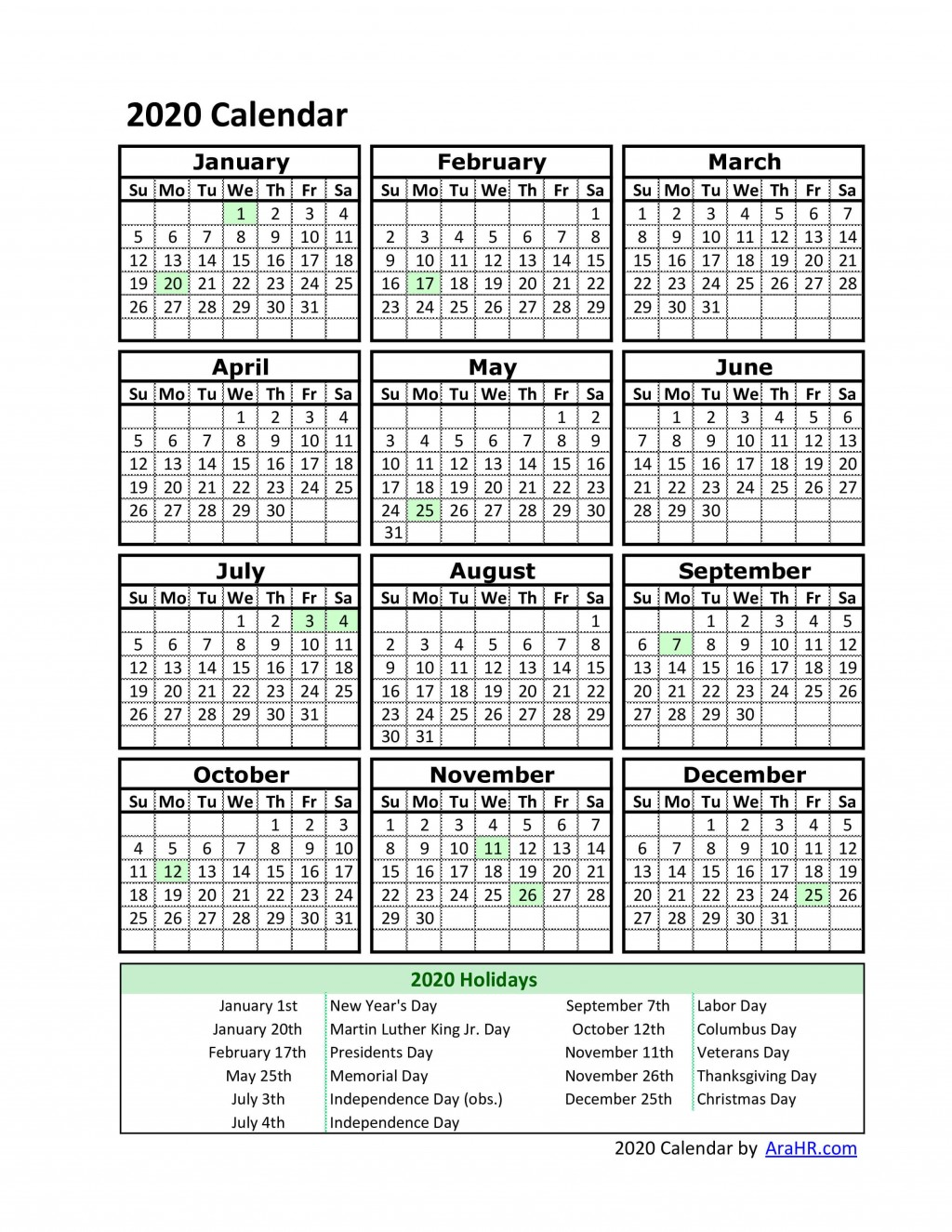 001 Remarkable Free Excel Calendar Template High Definition  2020 Monthly Download Biweekly Payroll 2018Large