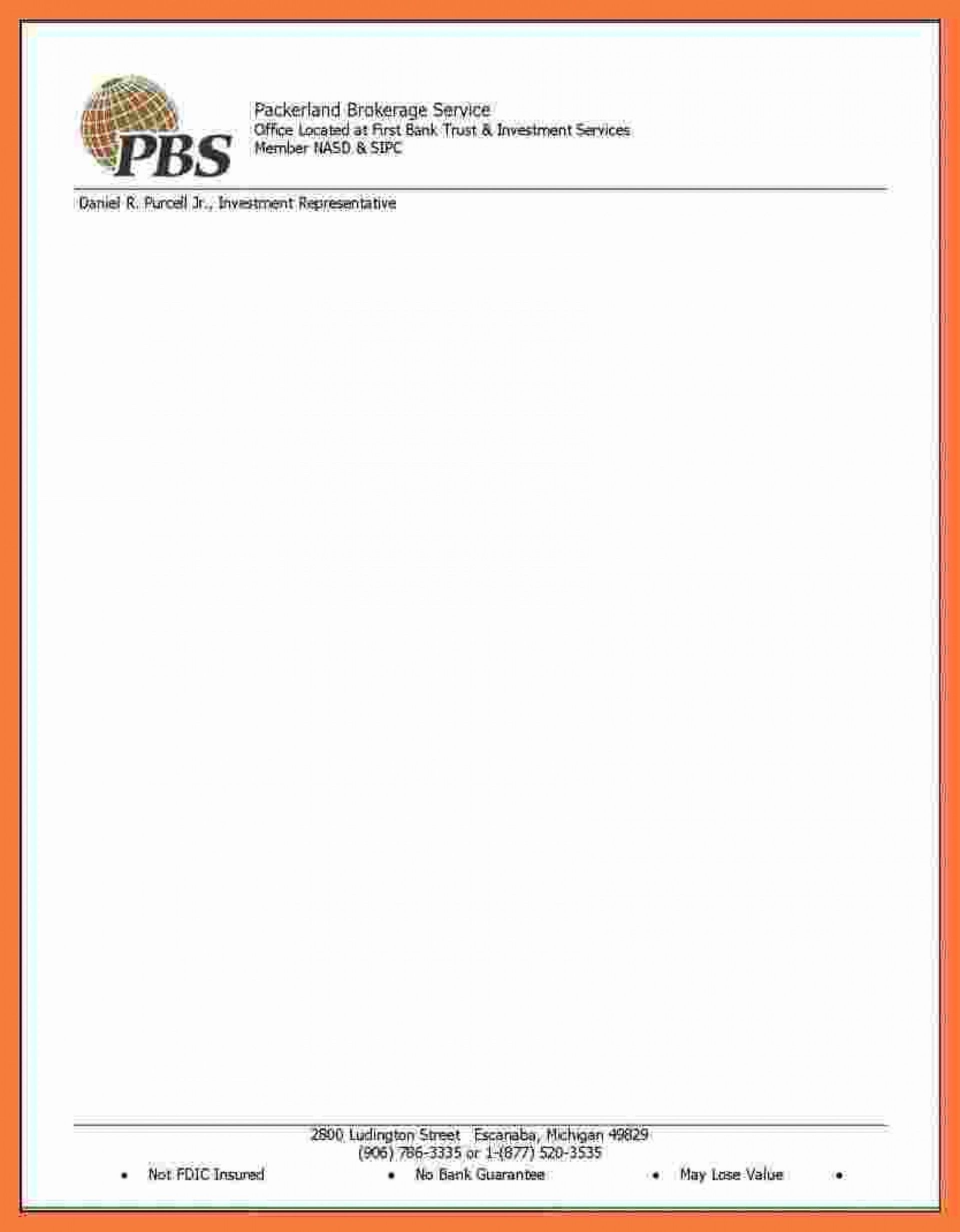 001 Remarkable Letterhead Sample Free Download Inspiration  Construction Company Template1920