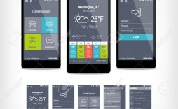001 Remarkable Mobile App Design Template Example  Size Free Download Ui Psd