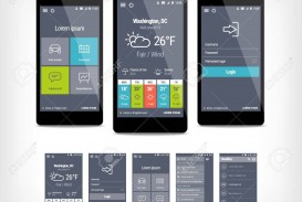 001 Remarkable Mobile App Design Template Example  Size Adobe Xd Ui Psd Free Download