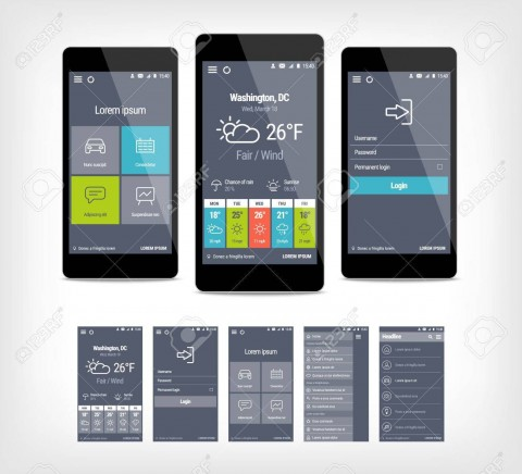 001 Remarkable Mobile App Design Template Example  Size Adobe Xd Ui Psd Free Download480