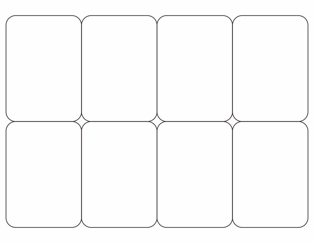 001 Remarkable Playing Card Template Word Doc Highest Quality  DocumentFull