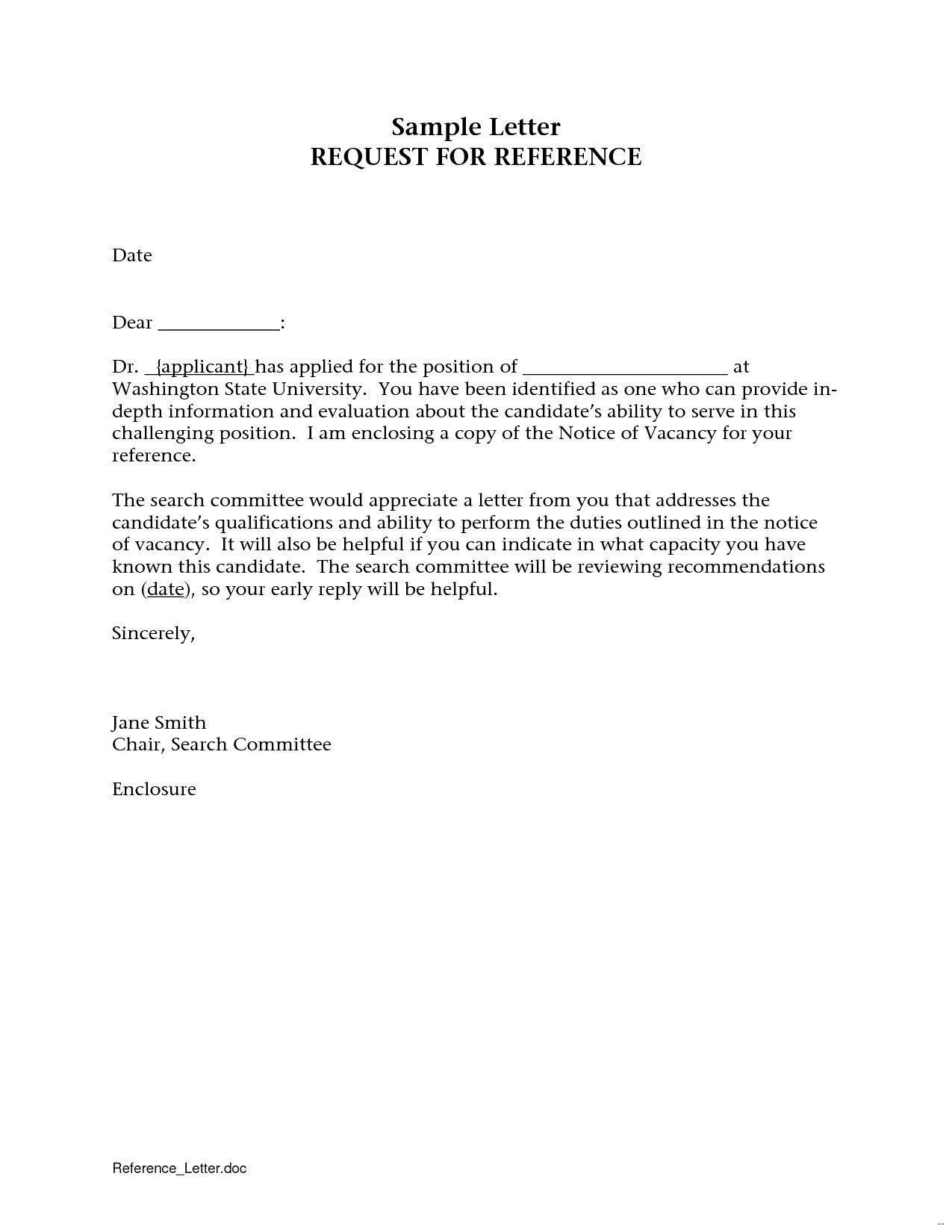 001 Remarkable Sample Request For Letter Of Recommendation Design  From Previou Employer NursingFull