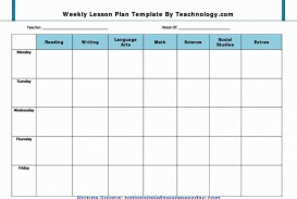 001 Remarkable Weekly Lesson Plan Template Pdf Example  Blank