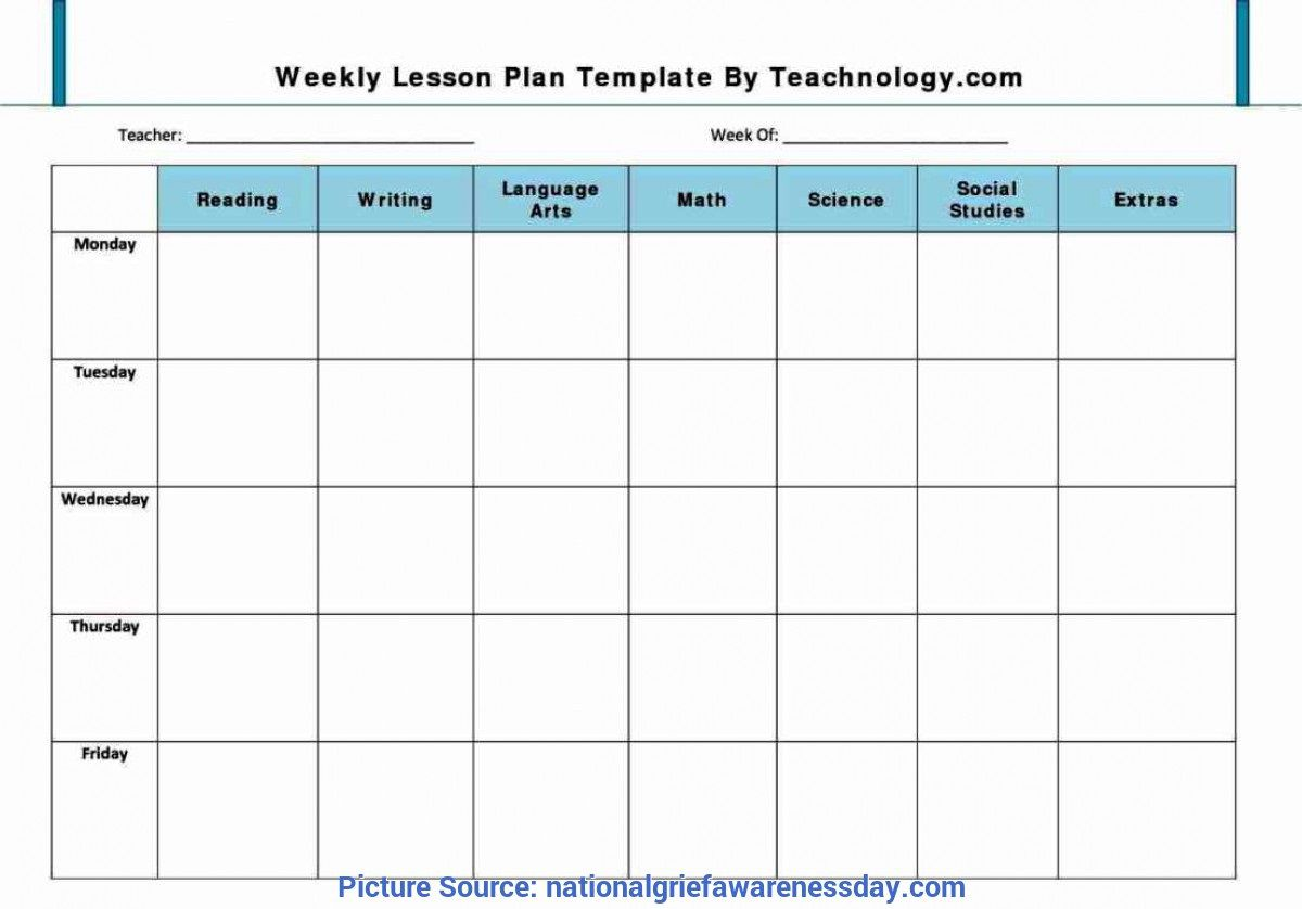 001 Remarkable Weekly Lesson Plan Template Pdf Example  BlankFull