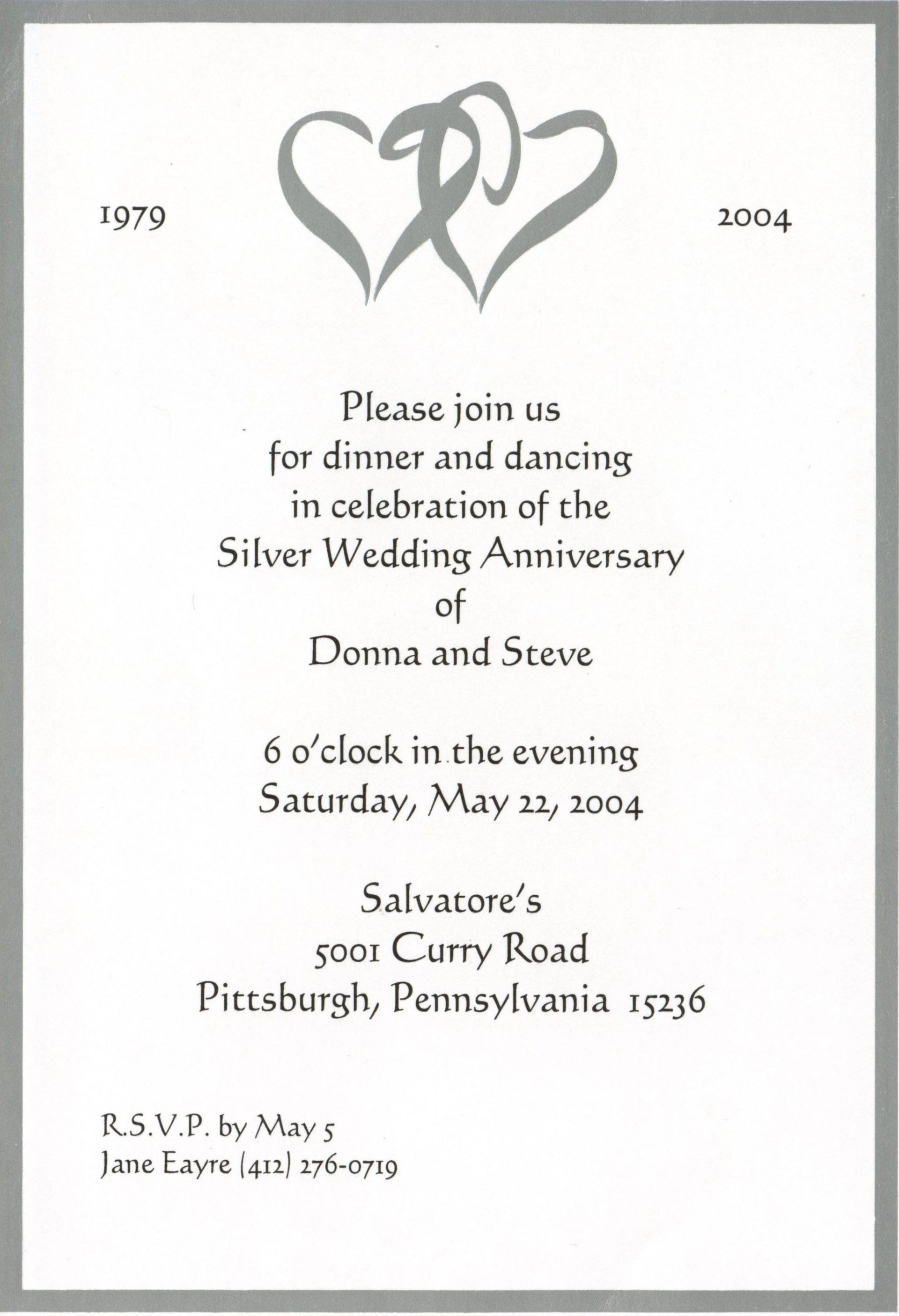001 Sensational 50th Wedding Anniversary Invitation Card Template Idea  Templates Sample1920