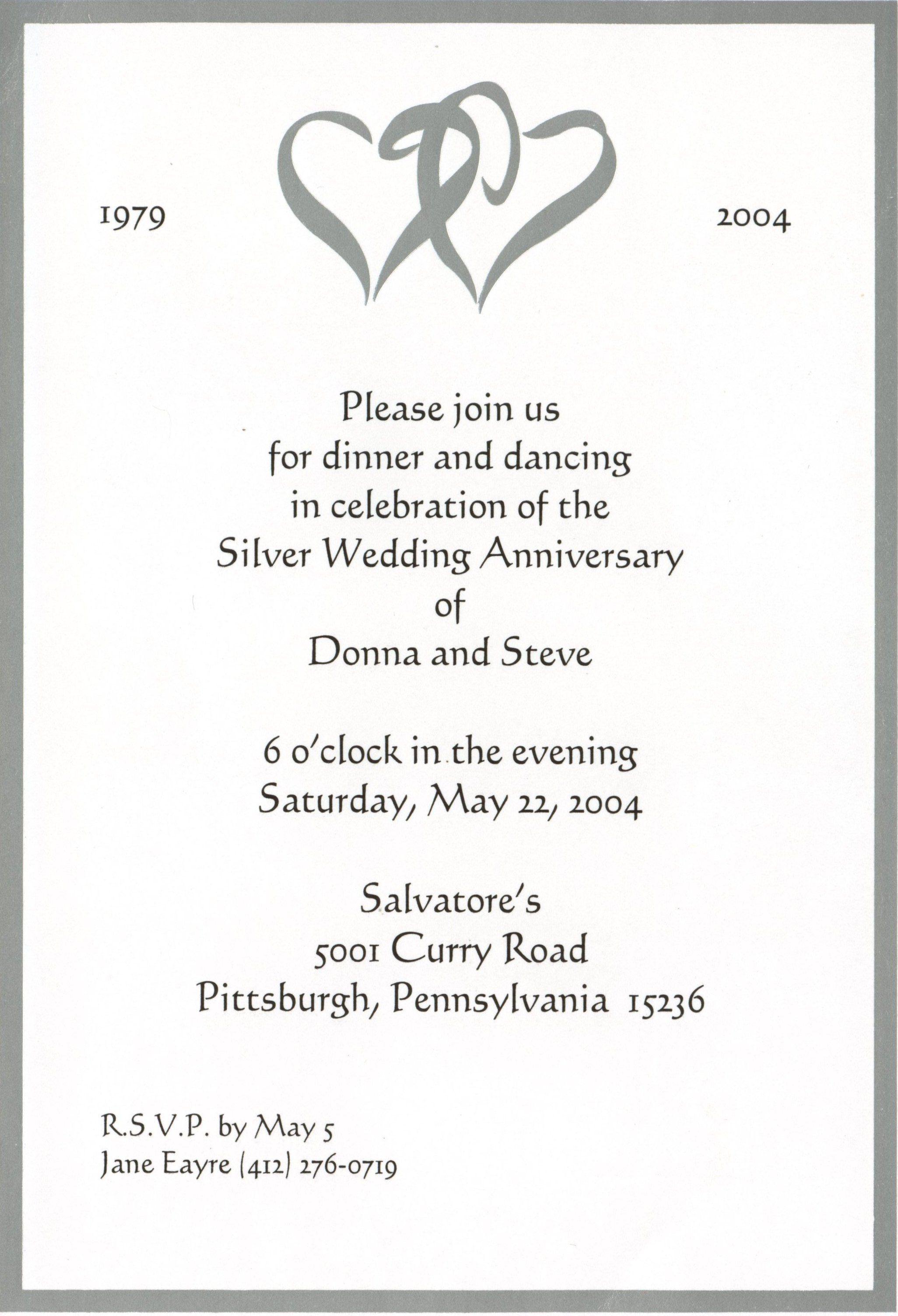 001 Sensational 50th Wedding Anniversary Invitation Card Template Idea  Templates SampleFull