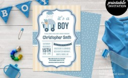 001 Sensational Baby Shower Card Template Psd High Definition