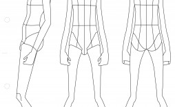 001 Sensational Body Template For Fashion Design High Definition  Female Male Human