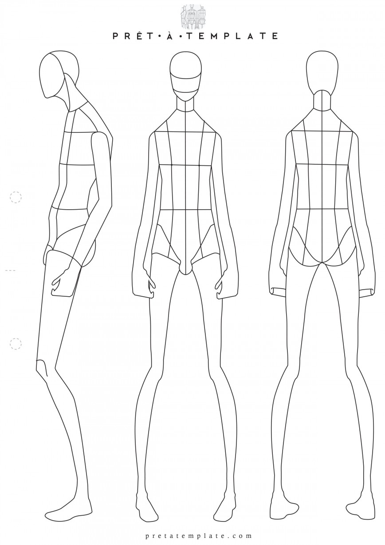 001 Sensational Body Template For Fashion Design High Definition  Human Female Male