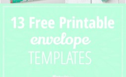 001 Sensational Free Printable Envelope Template Highest Clarity  Templates Addres Mini Pattern