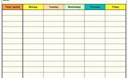 001 Sensational Free Printable Weekly Calendar Template 2018 High Resolution