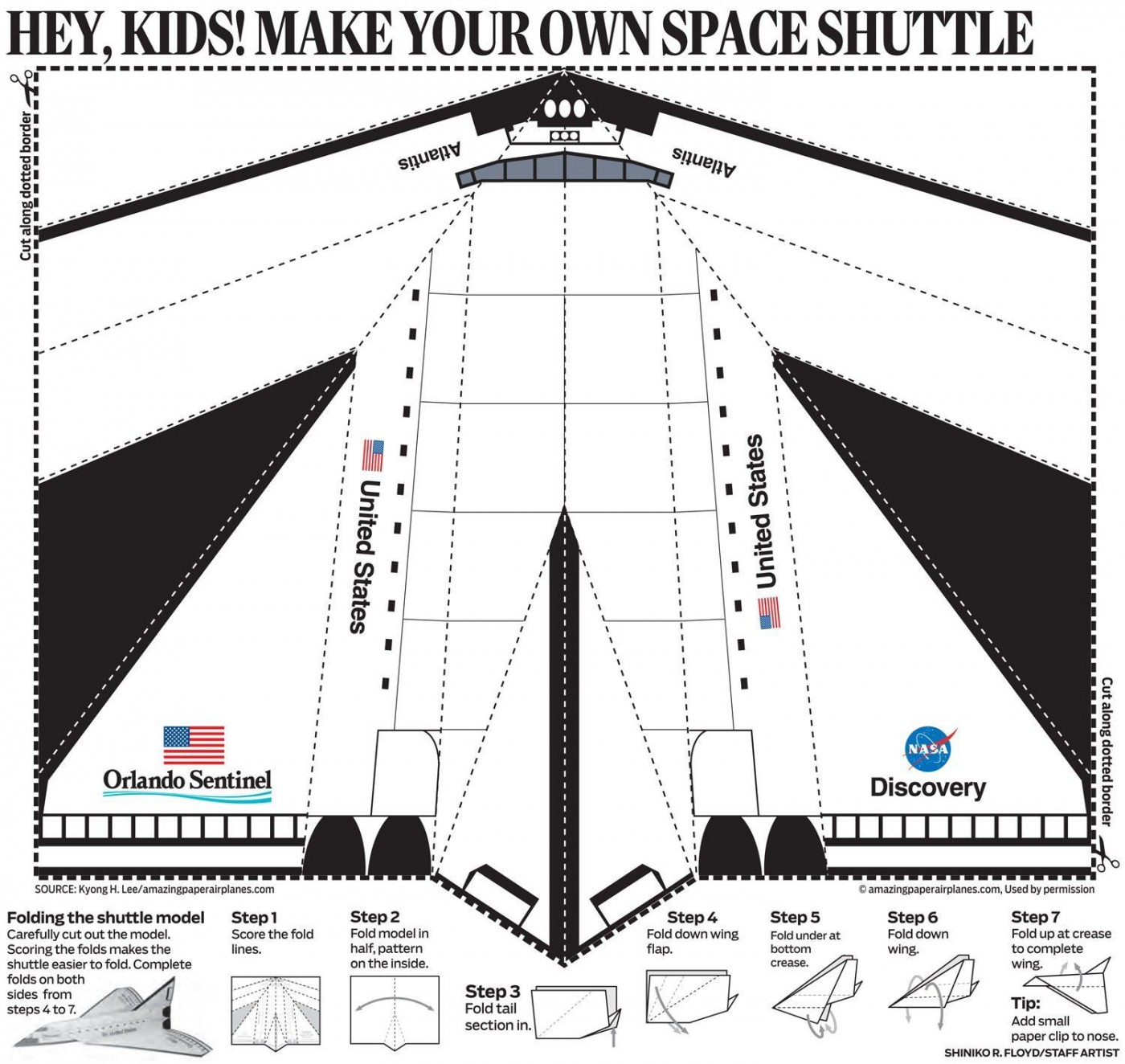 001 Sensational Printable Simple Paper Airplane Instruction Highest Quality  Plane1400