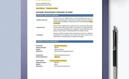 001 Sensational Simple Statement Of Work Template Word High Resolution