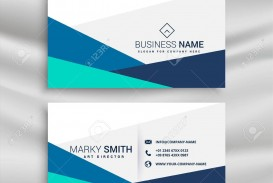 001 Sensational Simple Visiting Card Design Example  Calling Busines Template Free In Photoshop