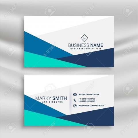 001 Sensational Simple Visiting Card Design Example  Calling Busines Template Free In Photoshop480