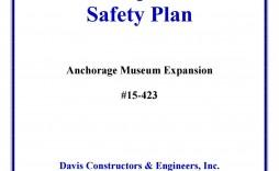 001 Sensational Site Specific Safety Plan Template Osha Inspiration