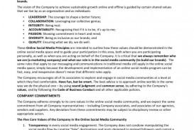 001 Sensational Social Media Policy Template Example  2020 Australia Nonprofit