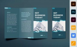 001 Sensational Tri Fold Brochure Indesign Template Concept  Free A3