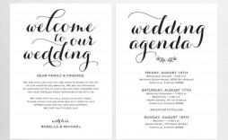 001 Sensational Wedding Welcome Bag Letter Template Free High Definition