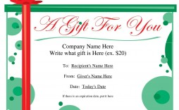 001 Shocking Blank Gift Certificate Template Example  Free Printable Downloadable