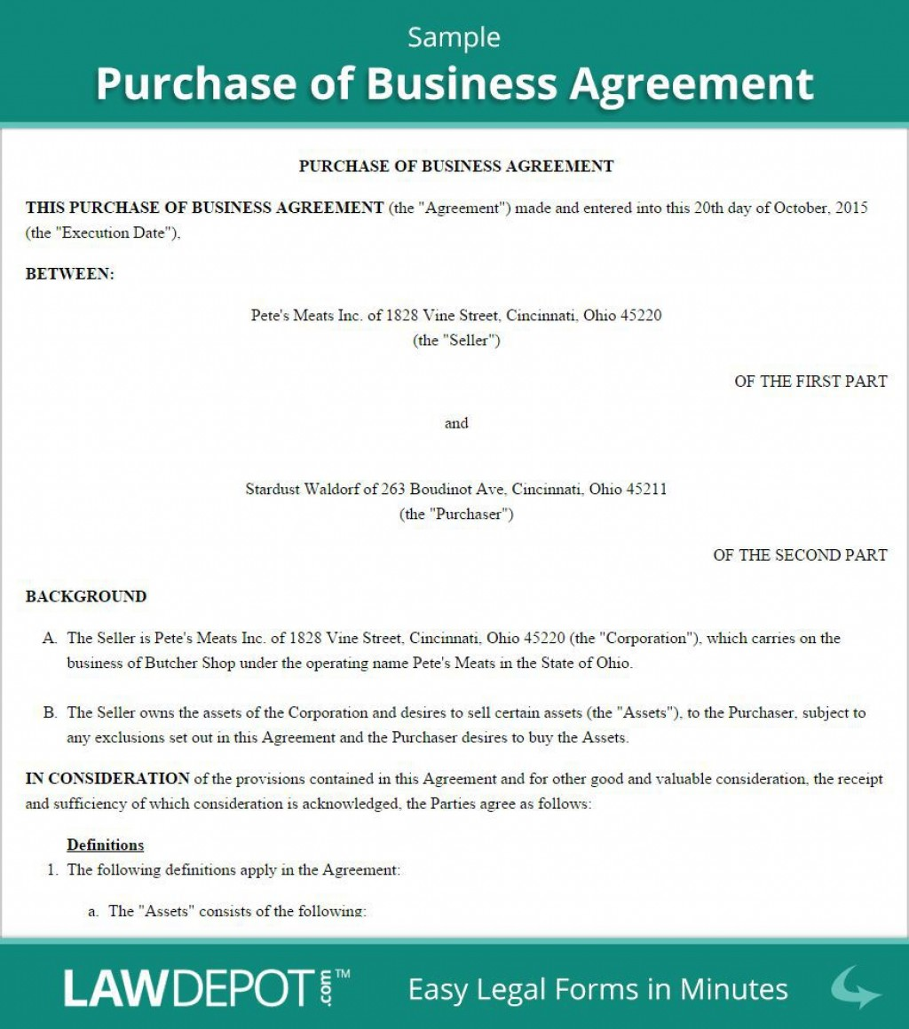 001 Shocking Buy Sell Agreement Template Free Download Design  Busines Sale Nz PurchaseLarge