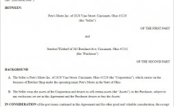 001 Shocking Buy Sell Agreement Template Free Download Design  Busines Sale Nz Purchase