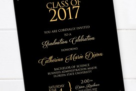 001 Shocking College Graduation Invitation Template Idea  Party Free For Word