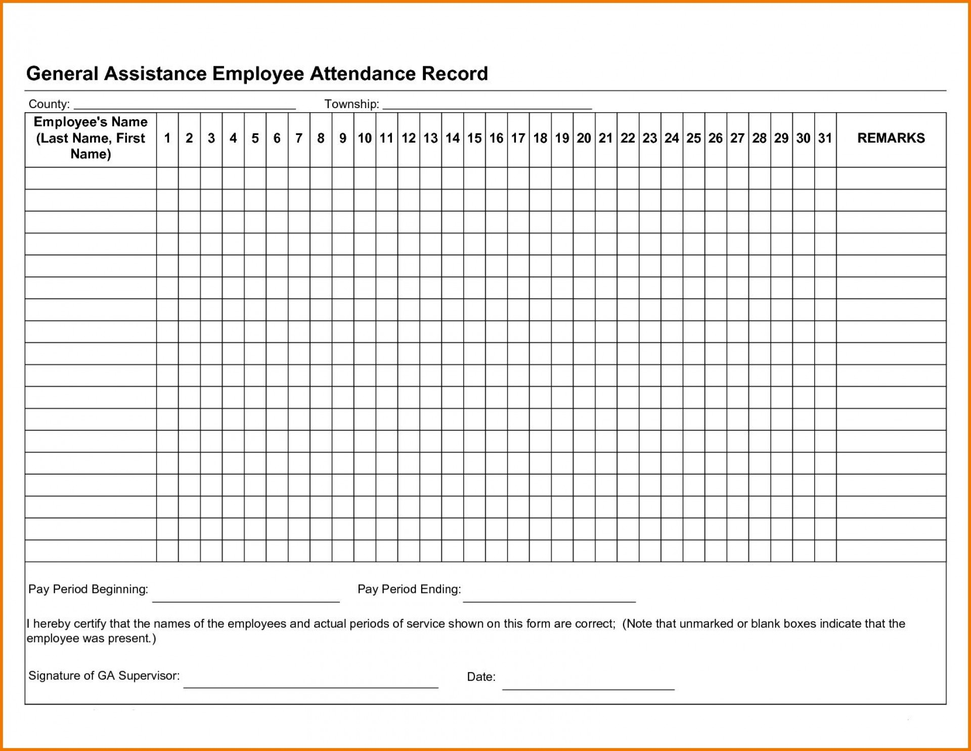 001 Shocking Employee Attendance Record Template Excel Idea  Free Download With Time1920