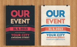 001 Shocking Free Event Flyer Template Photo  Party Download Psd