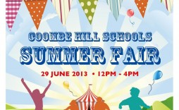 001 Shocking Free School Carnival Flyer Template Design  Templates Download