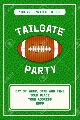 001 Shocking Free Tailgate Party Flyer Template Download Photo 320