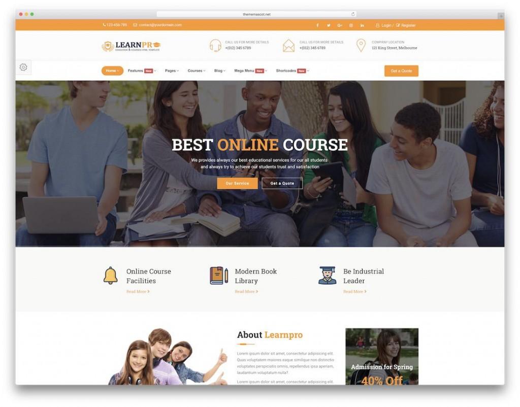 001 Shocking Mobile Friendly Website Template Image  BestLarge
