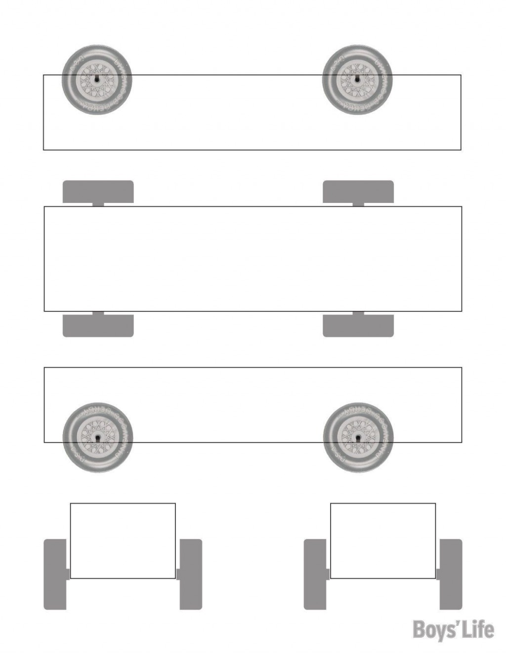 001 Shocking Pinewood Derby Car Design Template Concept  Fast WedgeLarge