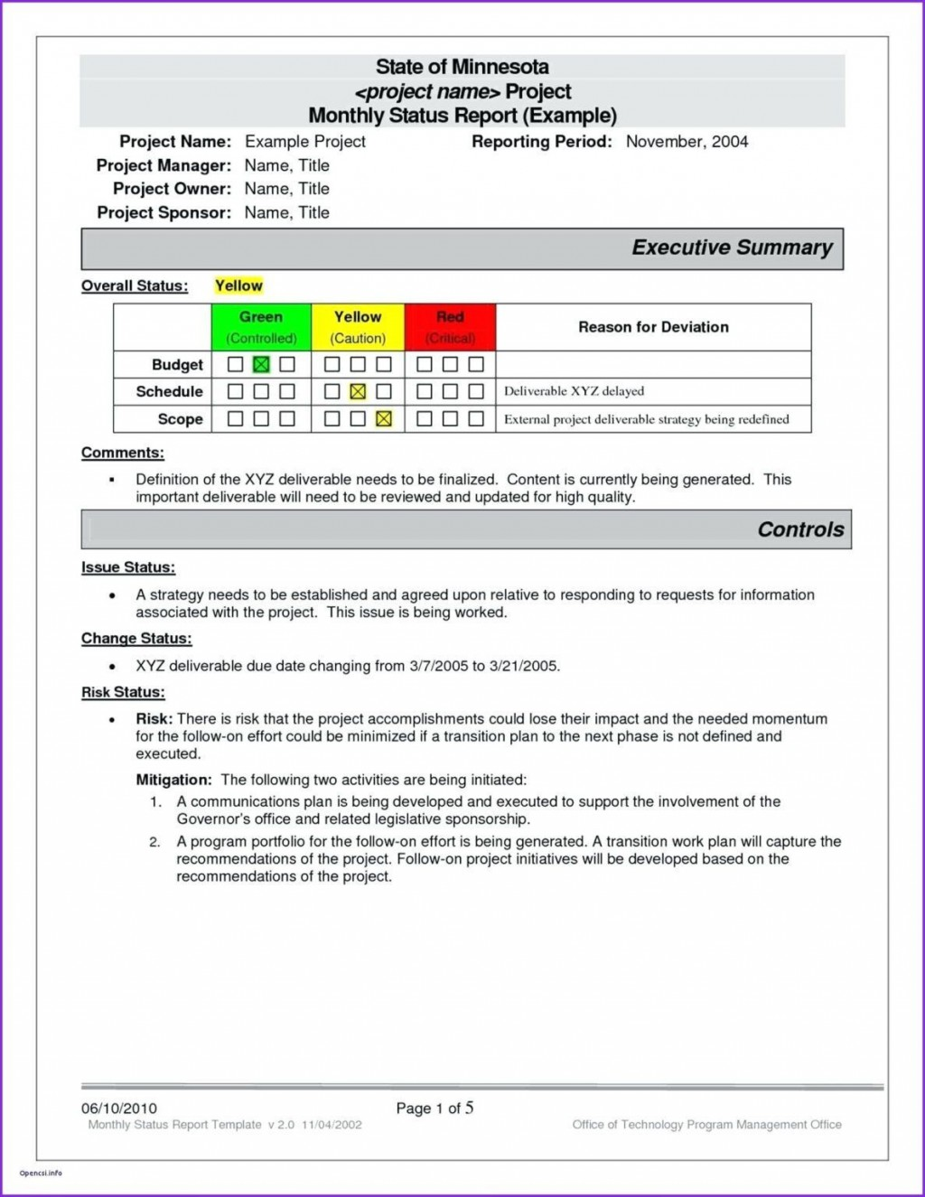 001 Shocking Project Management Weekly Statu Report Template Ppt Example  Template+powerpointLarge