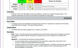 001 Shocking Project Management Weekly Statu Report Template Ppt Example  Template+powerpoint